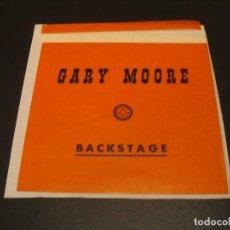Entradas de Conciertos: GARY MOORE BACKSTAGE GIRA TOUR ESPAÑA 1985 ENGANCHADO. Lote 207487475