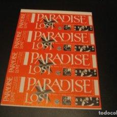 Bilhetes de Concertos: PARADISE LOST 4 ENTRADAS PRUEBAS DEL PROMOTOR MADRID 1994 SIN NUMERAR. Lote 207626397