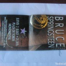 Entradas de Conciertos: ENTRADA MONUMENTAL BARCELONA 2 JULIO 1992 / BRUCE SPRINGSTEEN - MUY BUEN ESTADO. Lote 209876522