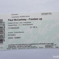 Entradas de Conciertos: PAUL MCCARTNEY - FRESHEN UP. 17-6-2020. Lote 211584829