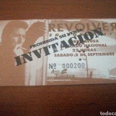 Entradas de Conciertos: ENTRADA CONCIERTO REVÒLVER 2 SEPTIEMBRE 1995. Lote 217651307
