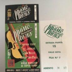 Biglietti di Concerti: J8 BRYAN FERRY AL JARREAU JOHN MILES DANZA INVISIBLE SUPERTRAMP ROGER HODGSON HEINEKEN. Lote 217932588