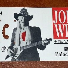 Entradas de Conciertos: ENTRADA CONCIERTO JOHNNY WINTER, MADRID 1993. Lote 218108332