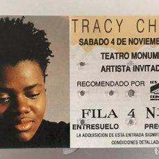 Biglietti di Concerti: J8 TRACY CHAPMAN MADRID. Lote 218233487