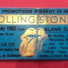 Entradas de Conciertos: J8 ROLLING STONES 24 7 1982 SLANE CASTLE IRELAND. Lote 218269946