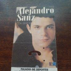 Biglietti di Concerti: ENTRADA CONCIERTO DE ALEJANDRO SANZ CON PACO DE LUCÍA MADRID 3 DE DICIEMBRE DE 1995. Lote 218622407
