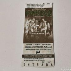 Biglietti di Concerti: ENTRADA PANTERA VALENCIA 1998. Lote 218932151