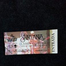 Billets de concerts: SANTANA ANTIGUA ENTRADA Y COMPLETA BCNA.NUMERO BAJO OPORTUNIDAD COLECCIONISTAS. Lote 219308871