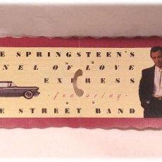 Entradas de Conciertos: ENTRADA BRUCE SPRINGSTEEN'S & THE STREET BAND TUNNEL OF LOVE EXPRESS BARCELONA 3 DE AGOSTO AÑO 88. Lote 219314986