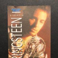 Entradas de Conciertos: BRUCE SPRINGSTEEN BARCELONA 1992, ENTRADA SIN CORTAR. Lote 219590157