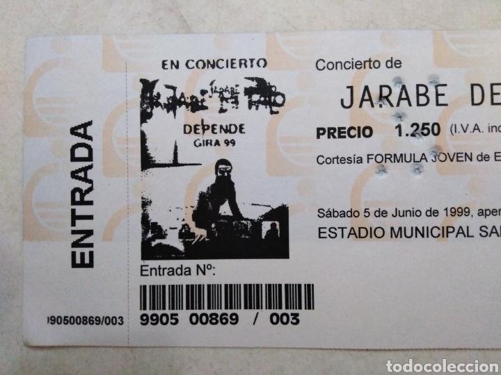 Entradas de Conciertos: Entrada concierto jarabe de palo ( sábado 5 de junio de 1999 ) - Foto 2 - 220534292