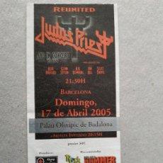 Entradas de Conciertos: ENTRADA CONCIERTO JUDAS PRIEST. BARCELONA. LA DE LA FOTO. Lote 220855385