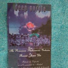 Billets de concerts: ENTRADA CONCIERTO. DEEP PURPLE CON THE ROMANIAN PHILHARMONIC ORCHESTRA +. MADRID. LA DE LA FOTO. Lote 221262178
