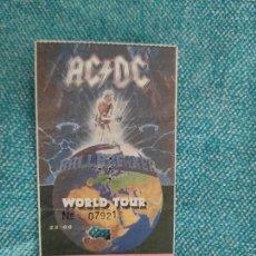 Entradas de Conciertos: ENTRADA CONCIERTO. AC/DC. WORLD TOUR+ARTISTA INVITADO. PALAU SANT JORDI. LA DE LA FOTO. Lote 221265436