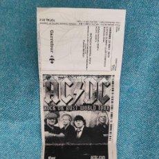 Entradas de Conciertos: ENTRADA CONCIERTO. AC/DC. ROCK OR BUST WORLD TOUR. ESTADI OLIMPIC LLUIS COMPANYS. 2015. BARCELONA. Lote 221266631