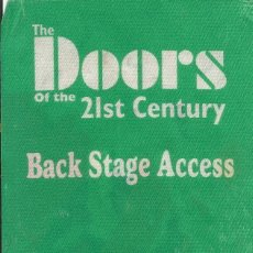 Entradas de Conciertos: THE DOORS. ENTRADA RAY MANZAREK, ROBBY KRIEGER, IAN ASTBURY, TY DENNIS. BENIDORM 4 DICIEMBRE 2003.. Lote 221275818