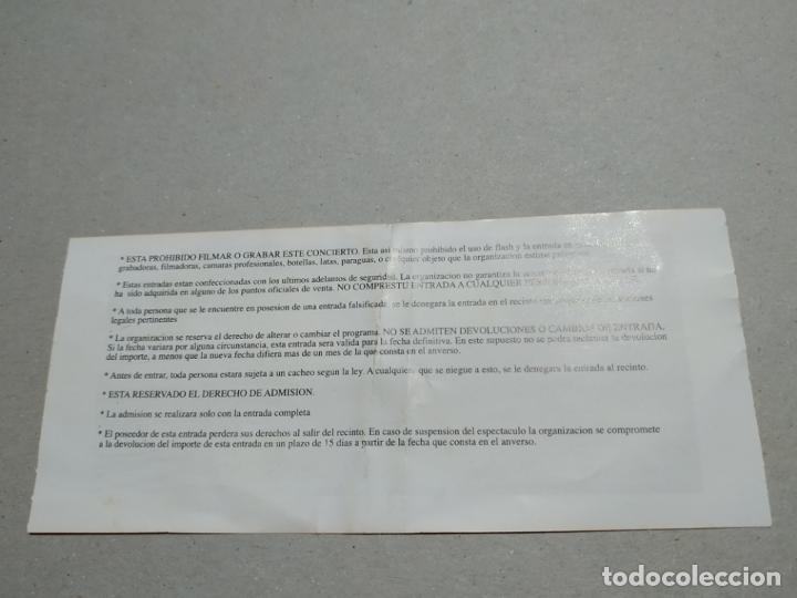 Entradas de Conciertos: ENTRADA CONCIERTO ROCKA ROLLA. SEGLE XIII+ELVANDAR-OTROS. SALA SALAMDRA. LA DE LA FOTO - Foto 2 - 222030383