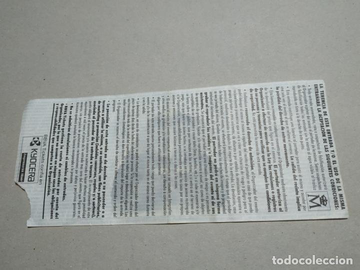 Entradas de Conciertos: ENTRADA CONCIERTO HALFORD-OVER KILL. DIVINO AQUALING, MADRID. LA DE LA FOTO - Foto 2 - 222030735