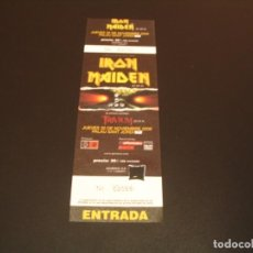 Billets de concerts: IRON MAIDEN ENTRADA COMPLETA BARCELONA GIRA 2006 TOUR 02086. Lote 222032588