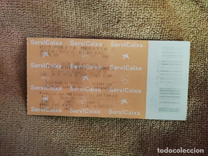 ENTRADA CONCIERTO THE ROLLING STONES. TOUR 97-98. LA DE LA FOTO (Música - Entradas)