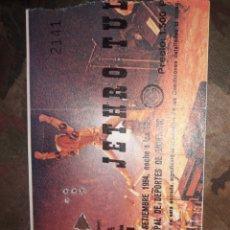 Entradas de Conciertos: ENTRADA JETHRO TULL BCN.1984. Lote 222851168