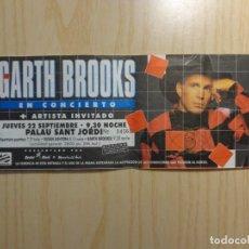 Entradas de Conciertos: ENTRADA CONCIERTO GARTH BROOKS. Lote 223768617