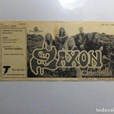 Entradas de Conciertos: ENTRADA CONCIERTO SAXON. Lote 223870572