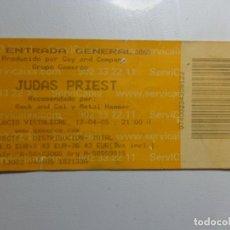 Entradas de Conciertos: ENTRADA CONCIERTO JUDAS PRIEST. Lote 223871287