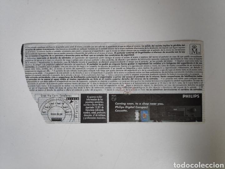 Entradas de Conciertos: Entrada concierto Dire Straits, On every street tour. Barcelona 1992 - Foto 2 - 226285116