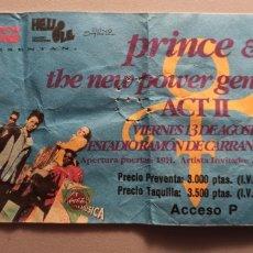Entradas de Conciertos: ANTIGUA ENTRADA PRINCE & NEW POWER GENERATION GIRA 1993... Lote 232250310