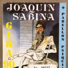 Entradas de Conciertos: JOAQUÍN SABINA + PABELLÓN PSIQUIÁTRICO. ENTRADA CONCIERTO EN CÓRDOBA EN 1990.. Lote 234319250