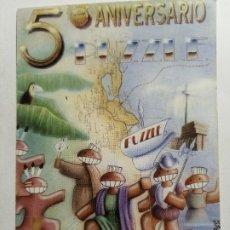 Bilhetes de Concertos: ENTRADA DISCOTECA O INVITACIÓN RUTA BACALAO VALENCIA - PUZZLE 5º ANIVERSARIO. Lote 234844670