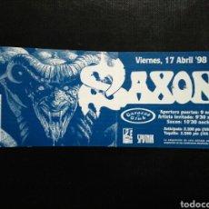 Biglietti di Concerti: ENTRADA CONCIERTO SAXON BARCELONA 1998. Lote 235332755