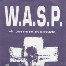 Entradas de Conciertos: WASP W.A.S.P. - ENTRADA CONCIERTO - SALA CANCILLER MADRID 30 OCTUBRE 1997 #. Lote 235427895