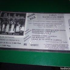 Entradas de Conciertos: ENTRADA CONCIERTO DE MEDINA AZAHARA + MARAÑONES + FERROBLUES ... I MOLINA ROCK MURCIA. 1997. N. 1. Lote 235588105