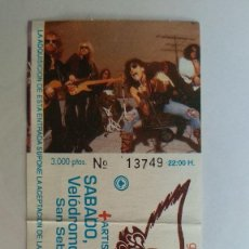Biglietti di Concerti: ENTRADA AEROSMITH 6 DE NOVIEMBRE DE GET A TRIP TOUR. SAN SEBASTIAN. VELODROMO ANOETA SAN SEBASTIAN. Lote 236301735