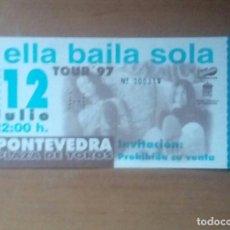 Biglietti di Concerti: ENTRADA CONCIERTO ELLA BAILA SOLA, PLAZA DE TOROS DE PONTEVEDRA 1997, NUEVA. Lote 236747205