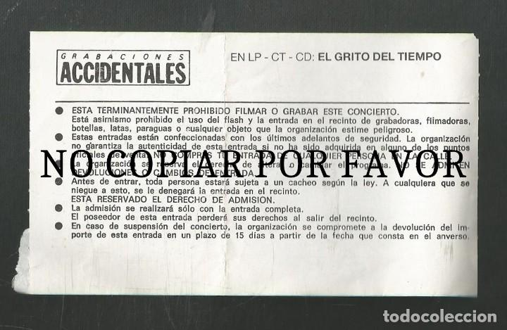 Entradas de Conciertos: ENTRADA CONCIERTO DUNCAN DHU - VALLADOLID - Foto 2 - 244870195