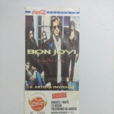 Entradas de Conciertos: ENTRADA DE CONCIERTO/BON JOVI KEEP THE FAITH ANOETA.. Lote 246041240