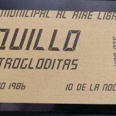 Entradas de Conciertos: ENTRADA CONCIERTO LOQUILLO Y TROGLODITAS 16-05-1986. Lote 246160285