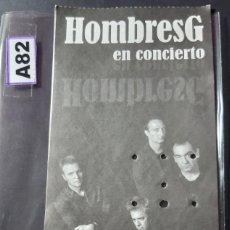 Bilhetes de Concertos: ENTRADA DE HOMBRES G. Lote 247484730