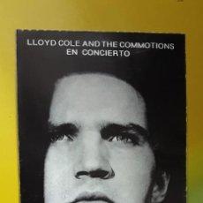 Entradas de Conciertos: ENTRADA LLOYD COLE, ENERO 1988, PACHA AUDITORIUM VALENCIA. Lote 248770470