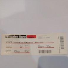 Entradas de Conciertos: ENTRADA TEATRE LLIURE.MARIA DEL MAR BONET. Lote 252052185