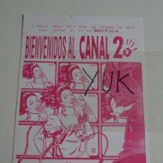 Entradas de Conciertos: TARJETA INVITACION FLYER DISCOTECA BARRACA - CANAL 25 TV DEL KAOX 1991 - RUTA BAKALAO - DESTROY. Lote 253802075