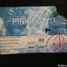 Entradas de Conciertos: ENTRADA CONCIERTO PINK FLOYD BARCELONA 1994. Lote 293942298