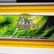Biglietti di Concerti: FLYER INVITACION ENTRADA DISCOTECA RIVERS 59 MADRID RAVE DANCE DJ JANO HERTZ NENE MARIO OMMENSOUND. Lote 260533830