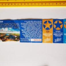 Biglietti di Concerti: FLYER INVITACION ENTRADA SIN CORTAR FESTIVAL SAN MIGUEL GROOVE PARADE 2003 DESIERTO MONEGROS. Lote 260549975