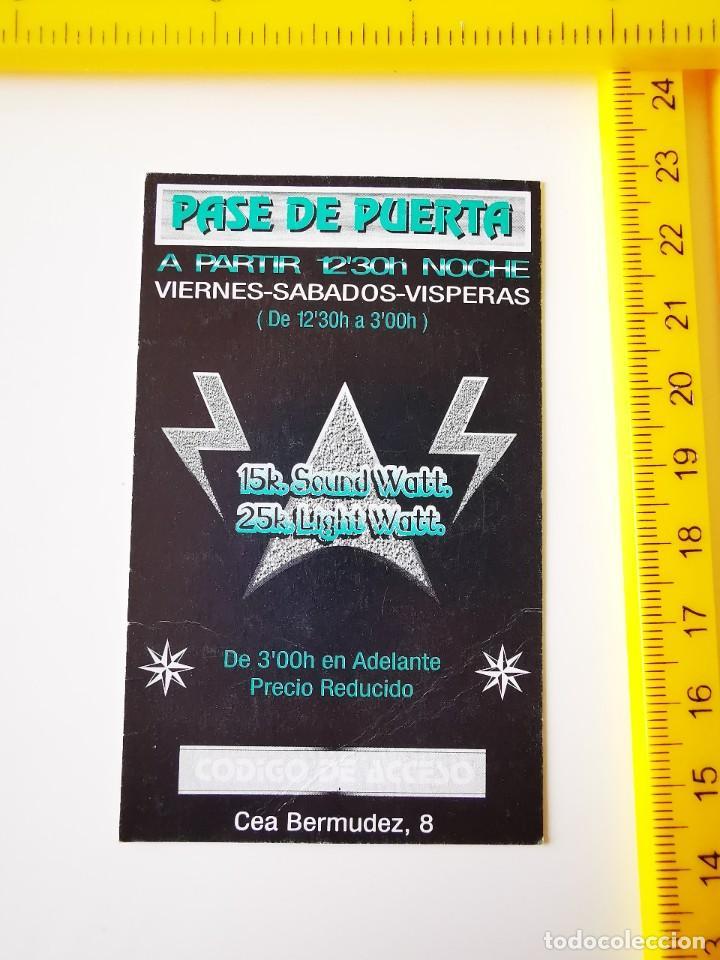 Entradas de Conciertos: FLYER INVITACION ENTRADA PASE DE PUERTA DISCOTECA EPSILON EXPANSIVE SOUND CEA BERMUDEZ 8 MADRID - Foto 2 - 262075515