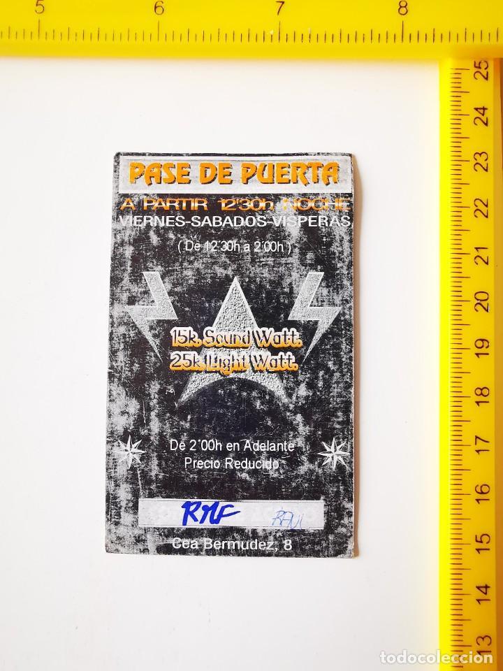 Entradas de Conciertos: FLYER INVITACION ENTRADA PASE DE PUERTA DISCOTECA EPSILON EXPANSIVE SOUND CEA BERMUDEZ 8 MADRID - Foto 2 - 262075820