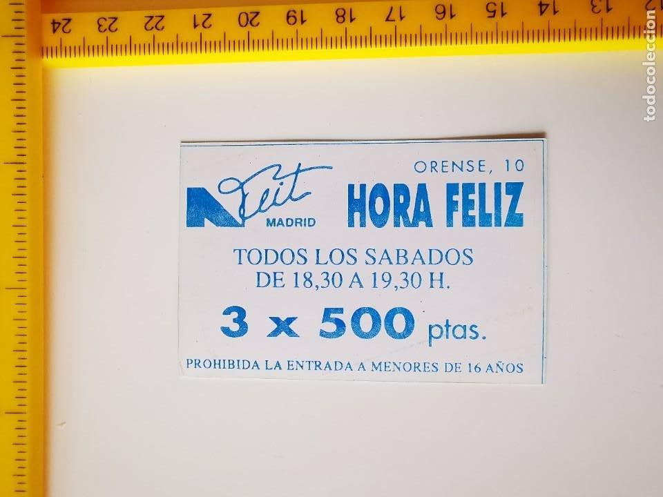 Entradas de Conciertos: FLYER INVITACION ENTRADA DISCOTECA LA NUIT MADRID ORENSE 10 SABADOS HORA FELIZ AÑOS 90 - Foto 2 - 262078295